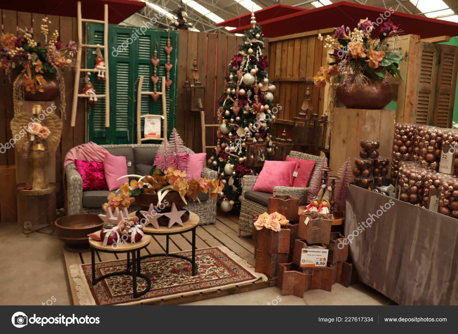 Aalsmeer Netherlands November 7th 2018 Christmas Decorations