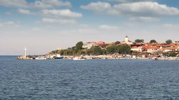 Old town Nessebar port Bulgaria