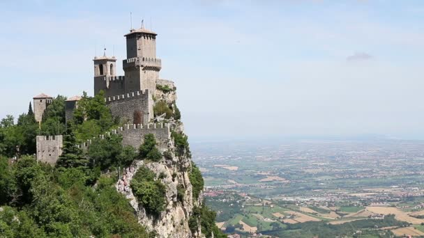 Antica fortezza della Rocca Guaita di San Marino, Italia