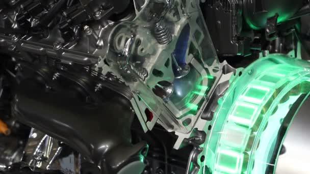 powerful v6 car hybrid engine