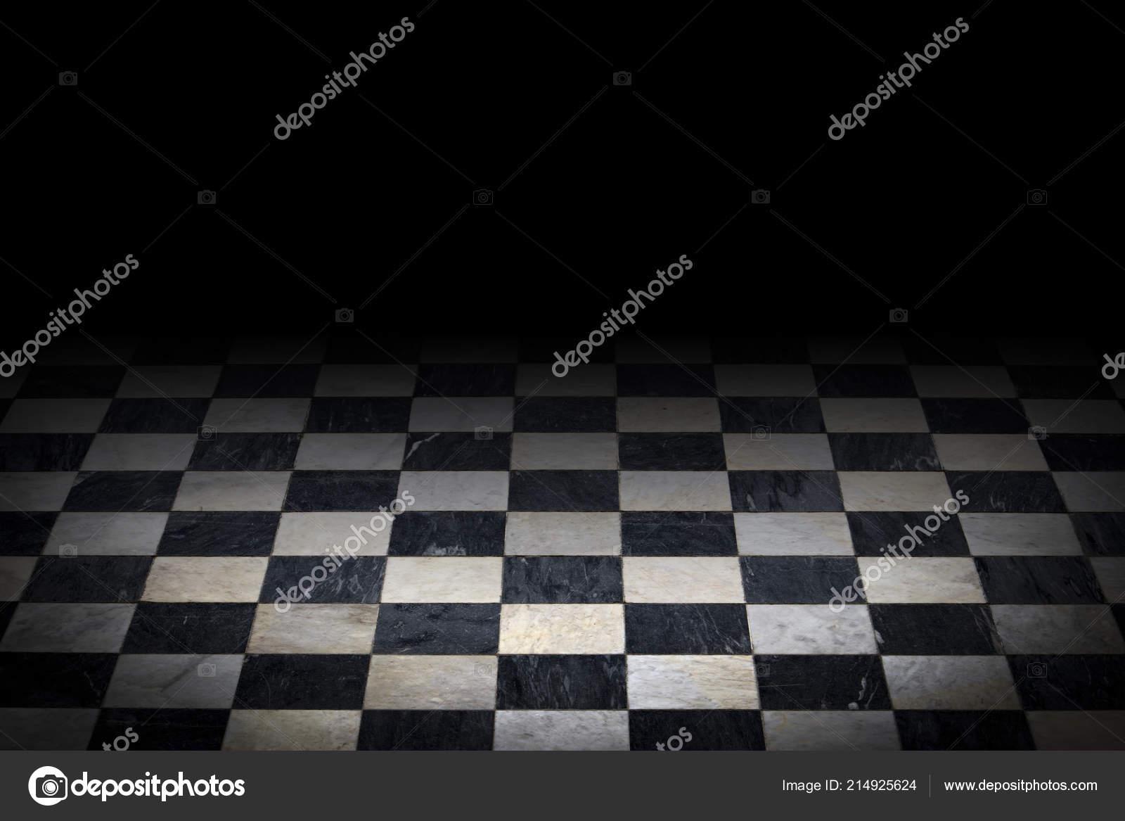 Antique Carreaux Sol Marbre Noir Blanc Des Arrière Plans Avec ...