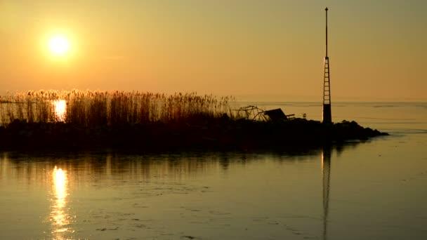 Sunset al Lake Balaton (Fonyod), Magyarország