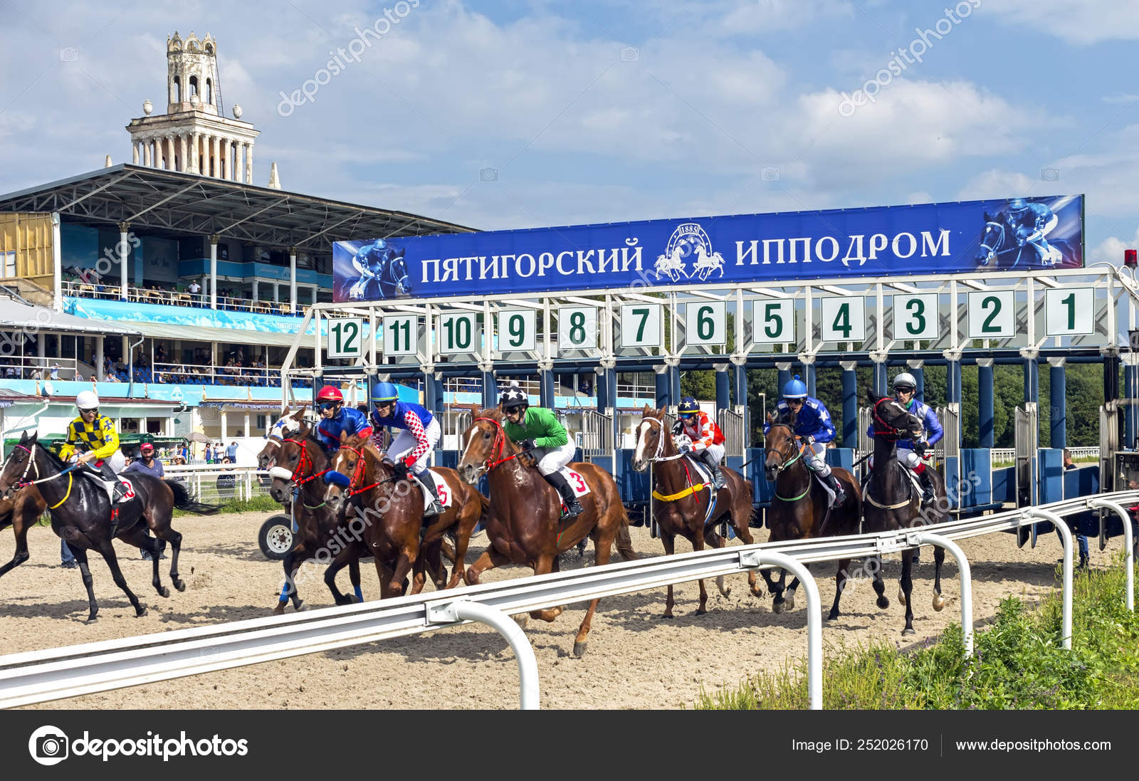 Horse race in Pyatigorsk  – Stock Editorial Photo © mikle15