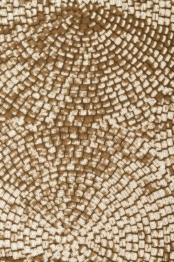Golden sequins - sparkling sequined textile