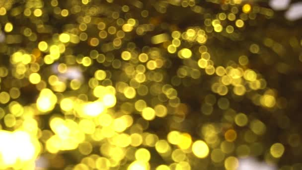 Zlatý rozmazané světlé pozadí