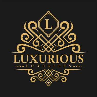 Letter L Logo - Classic Luxurious Style Logo Template