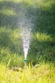 Irrigazione sistema irrigazione lerba verde
