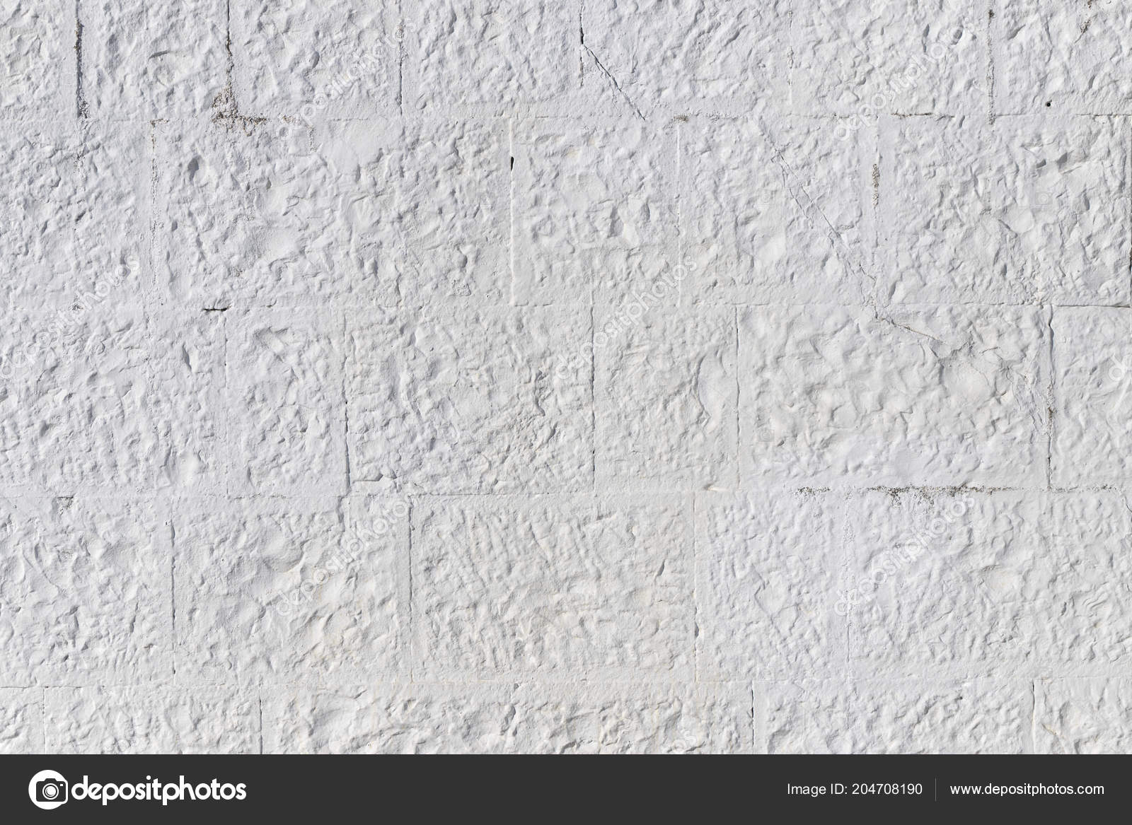 Image of: Pictures Painted Cinder Block Wall White Painted Concrete Block Wall Background Texture Stock Photo C Shellexx 204708190