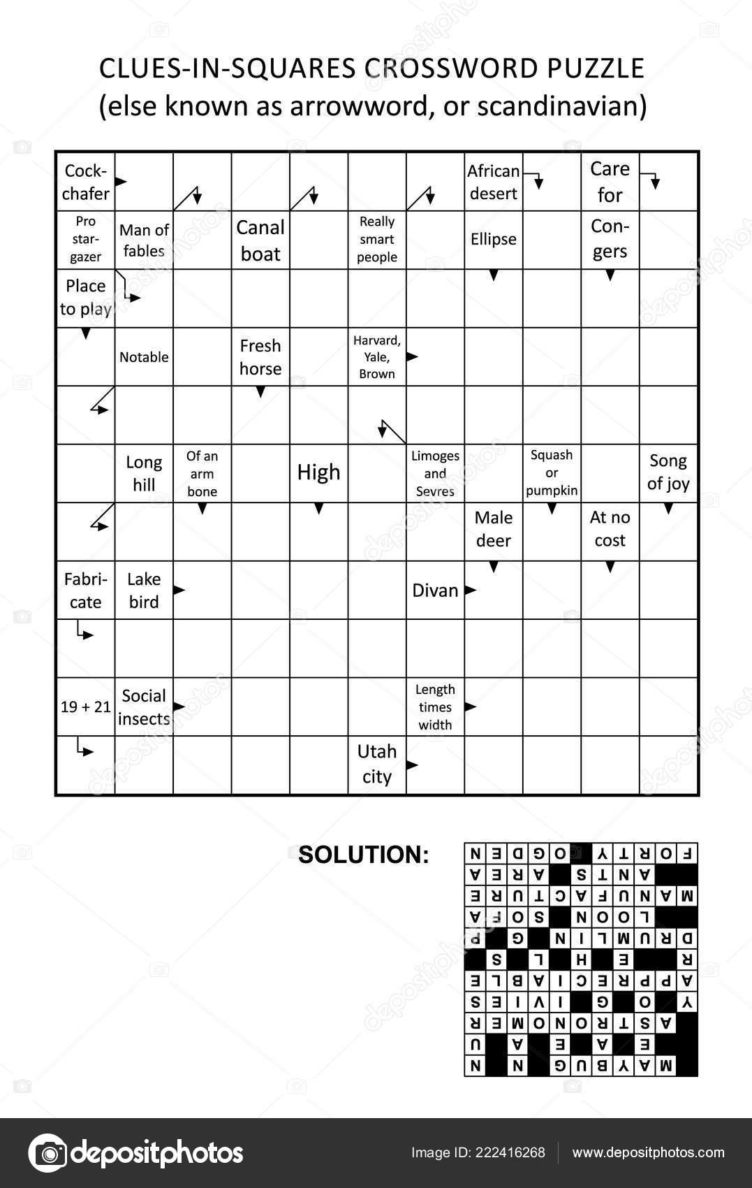 Scandinavian crosswords: a selection of sites