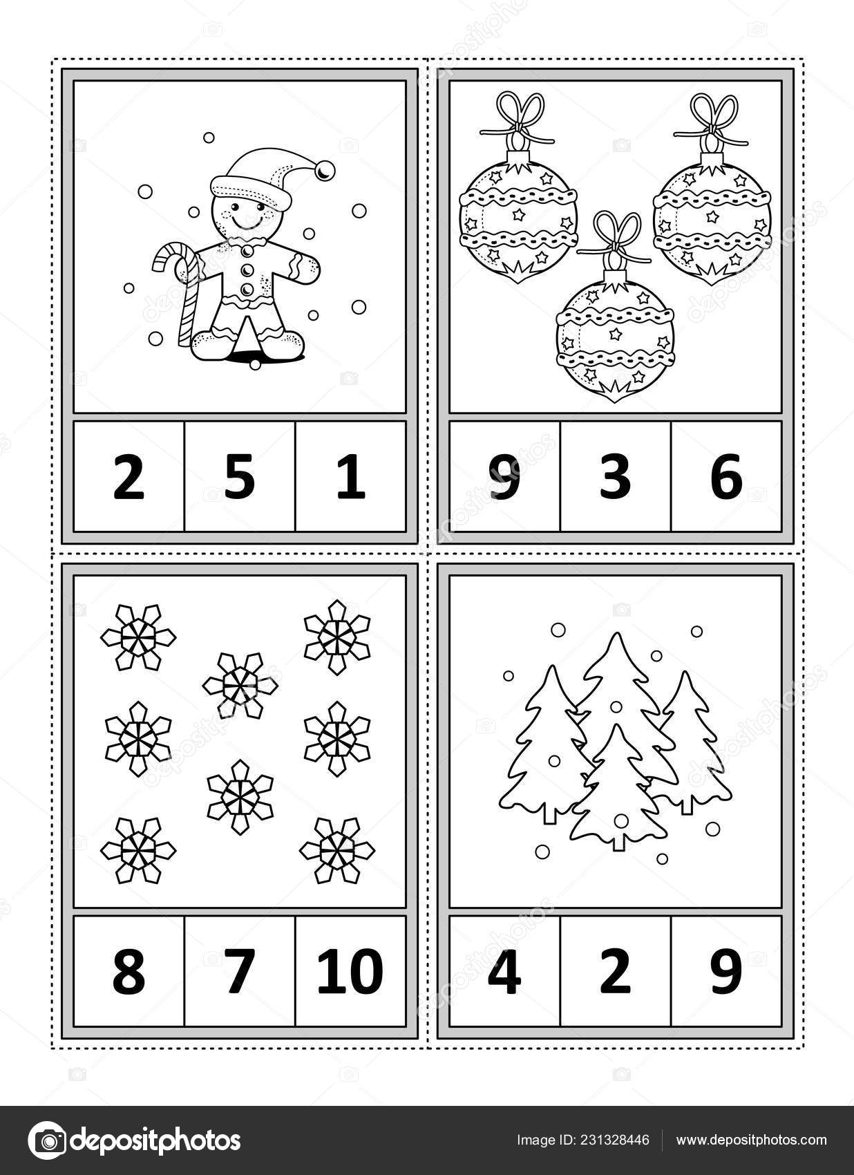 letter s worksheets count the pictures and circle the correct number 23132