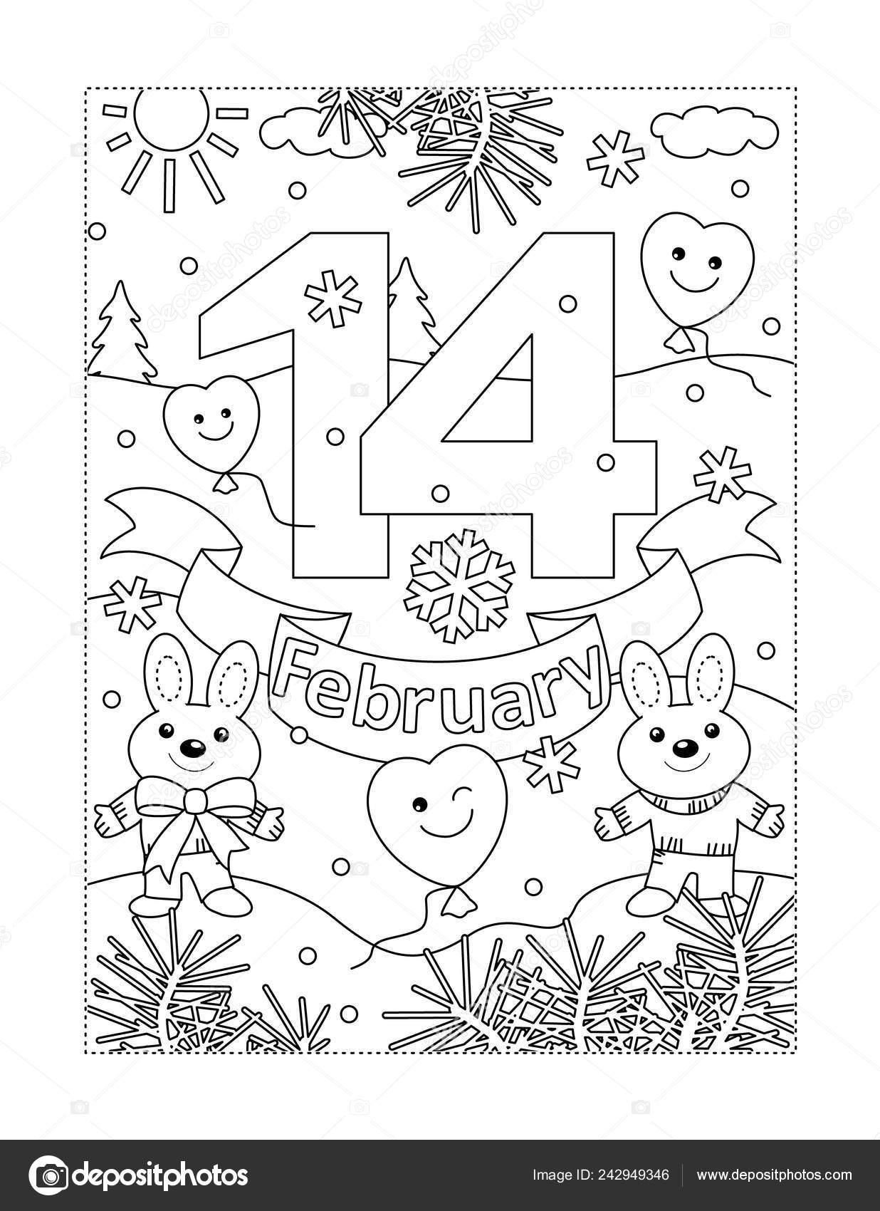 Kleurplaten Valentijn Volwassenen.Aftelkalender Voor Valentijnsdag Kleurplaten Pagina Voor Kinderen