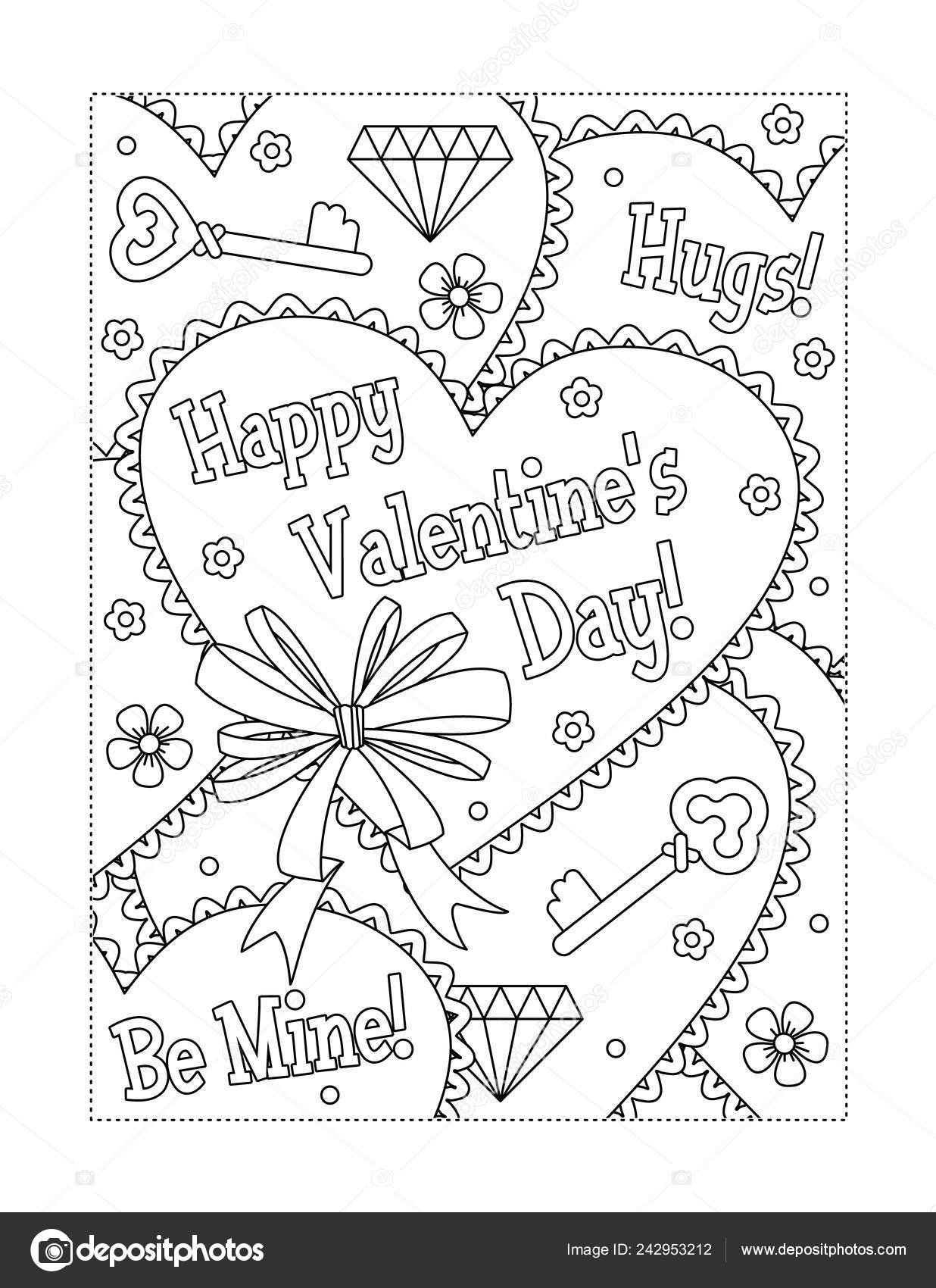 15 Valentine's Day Coloring Pages for Kids | Shutterfly | 1700x1236