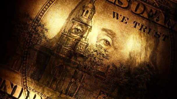 Közelről felvétel az amerikai dollár
