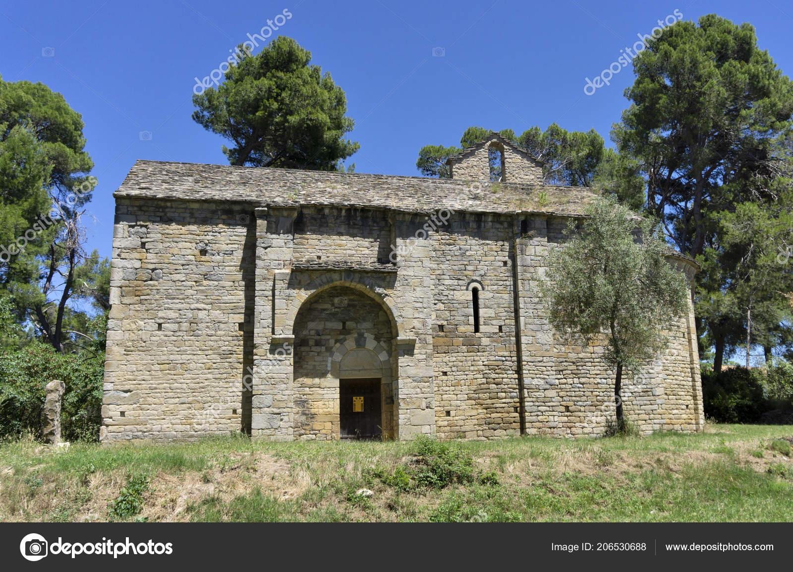Saint Germain Chapel Romanesque Architecture Cesseras France