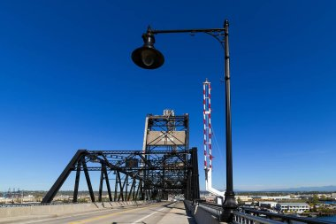 Murray Morgan 11th Street Bridge over Thea Foss Waterway at Port of Tacoma Washington