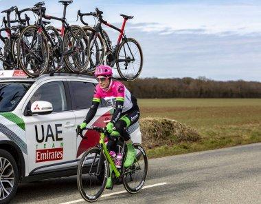 The Cyclist Pierre Rolland - Paris-Nice 2018