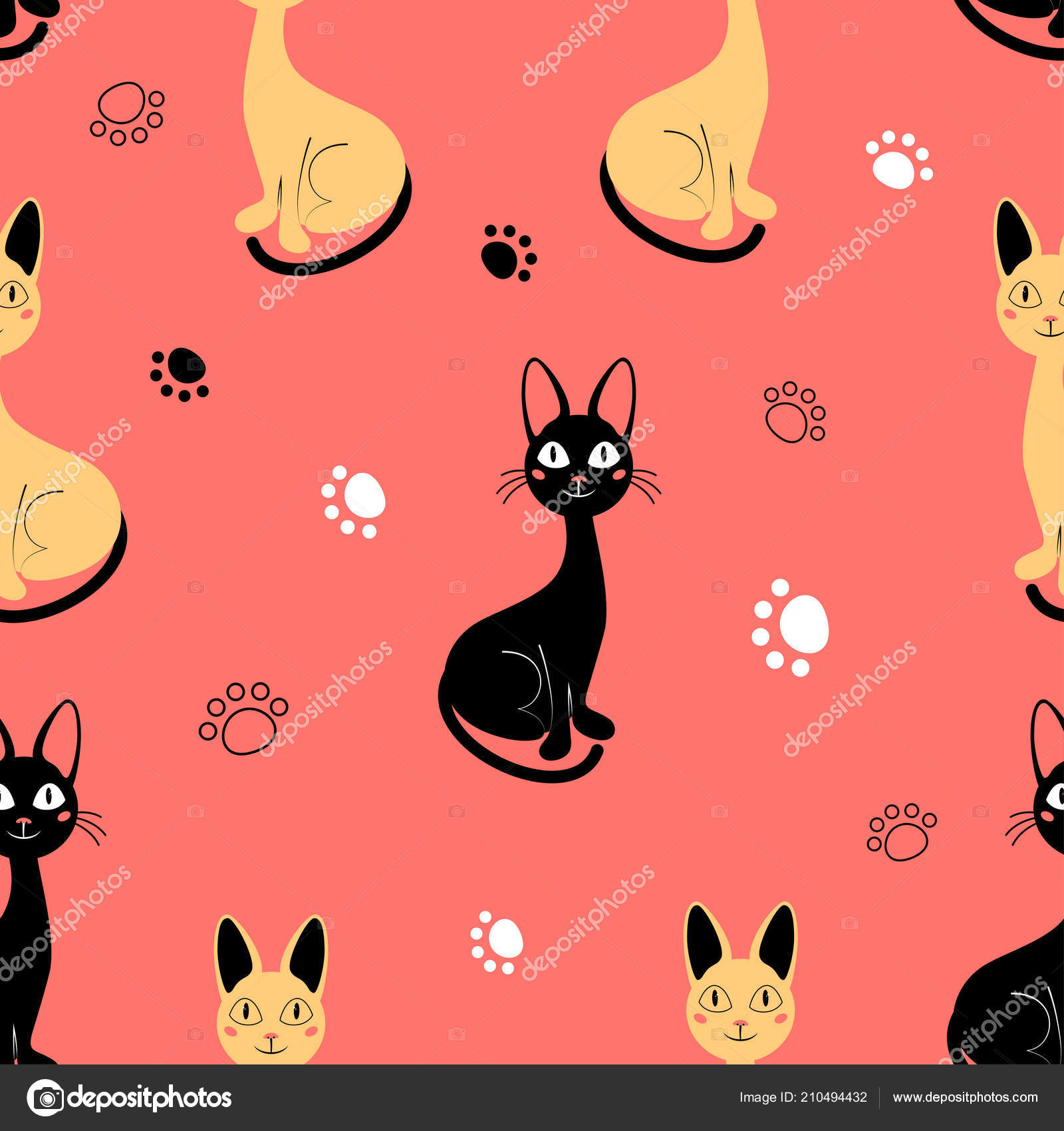 7x10 FT Kitty Vinyl Photography Background Backdrops,Cartoon Cats Illustration Kitten in Love Painting a Heart Carrying Romantic Balloons Background for Photo Backdrop Studio Props Photo Backdrop Wall
