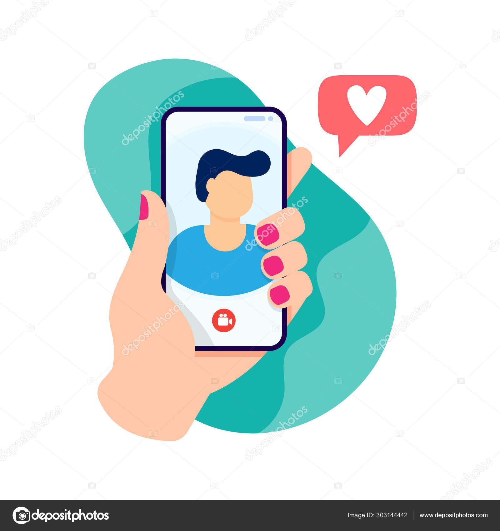 Relations de distance de rencontre en ligne
