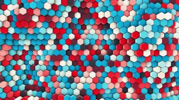 3D gewellten Sechsecken Rohre