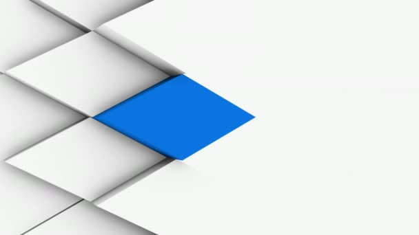 weißes minimales polygonales Gittermuster mit einigen Farbelementen
