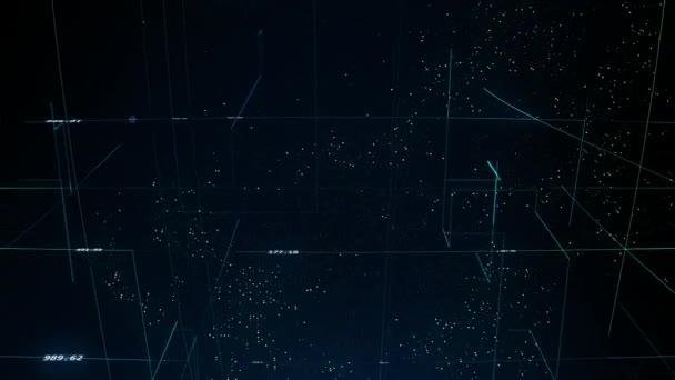 pohyblivé zemi světa s digitální linky