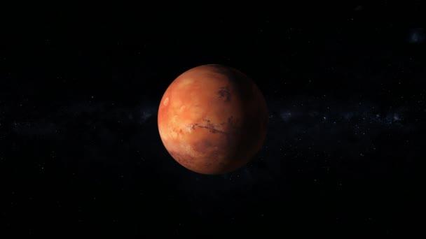 Mars je čtvrtá planeta od slunce