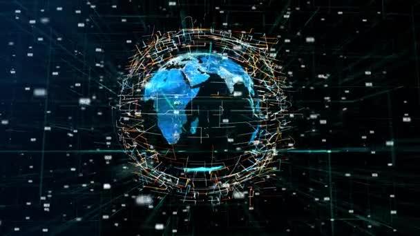 Globale digitale Welt