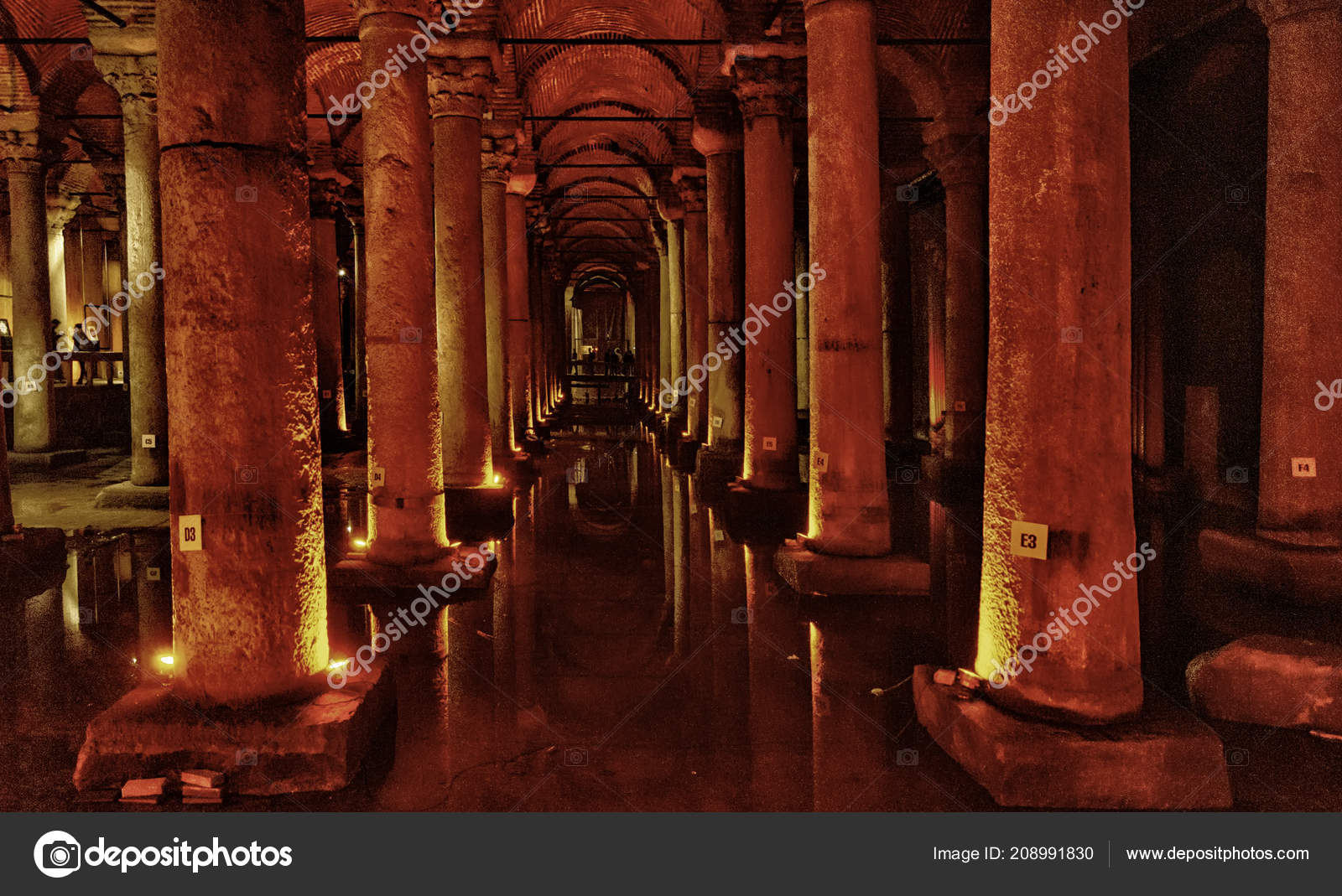 Basilica Cistern Underground Water Storage Tank Build