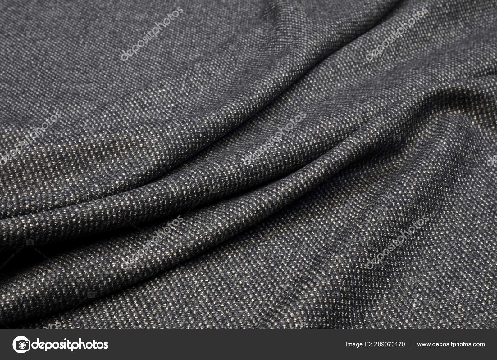 4099248052b8 Vestito Tessuto Lana Cachemire Tweed Grigio Bianco — Foto Stock ...