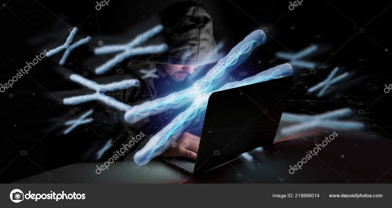 Desktop Wallpaper Chromosome View Man Hacking Group