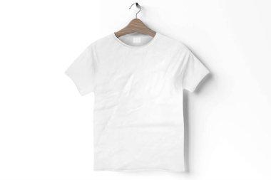 Tshirt mockup - 3d rendering stock vector
