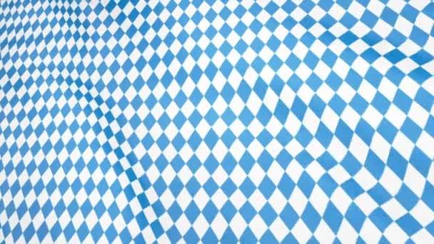 Oktoberfest bayerischen Fahnenmuster. Oktober München Fest Hintergrund. Raute Oktoberfest blaues Ornament