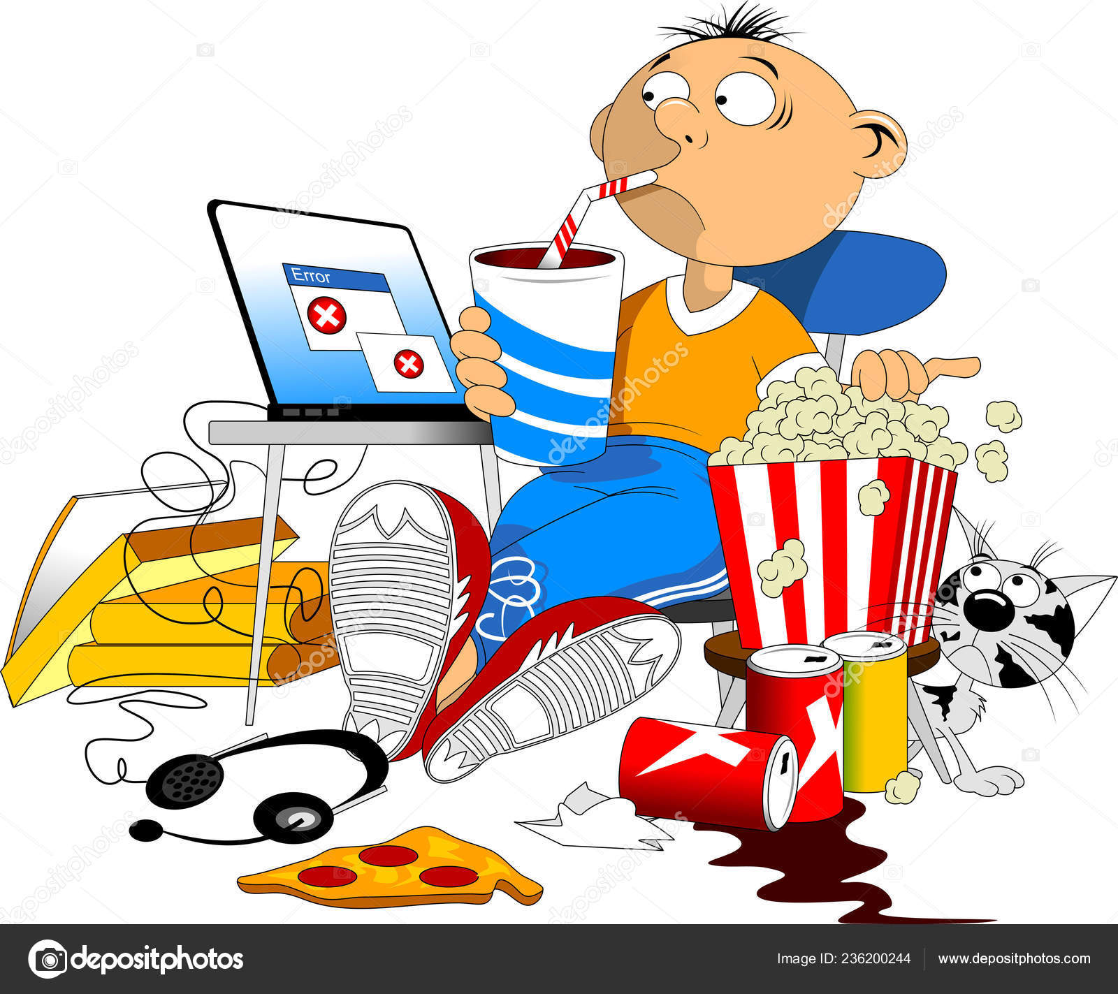 Computer surfing the Web clipart. Commercial use GIF, JPG, WMF, SVG clipart  # 135913   Graphics Factory