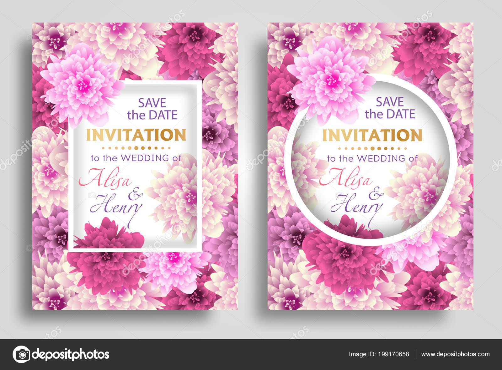 Cartoline Auguri Matrimonio : Impostare sfondo elegante modello invito matrimonio con cartolina