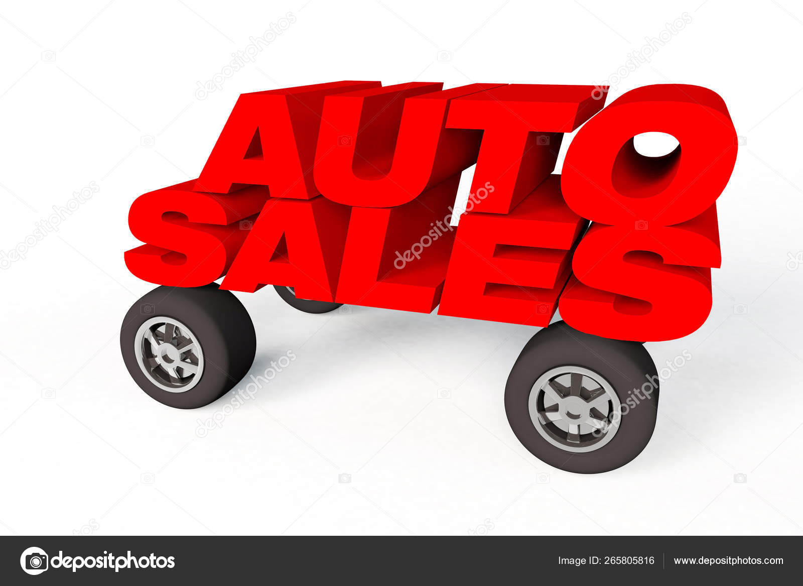 3D Auto Sales >> Auto Sales Logo On Car Whells Stock Photo C Joingate