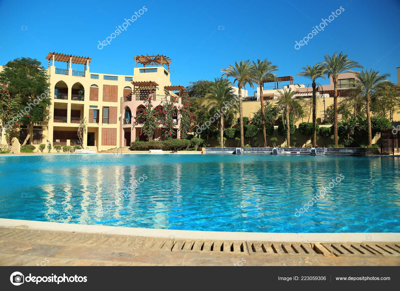 Jordan Aqaba December 2016 Outdoor Swimming Pool Clean Water ...