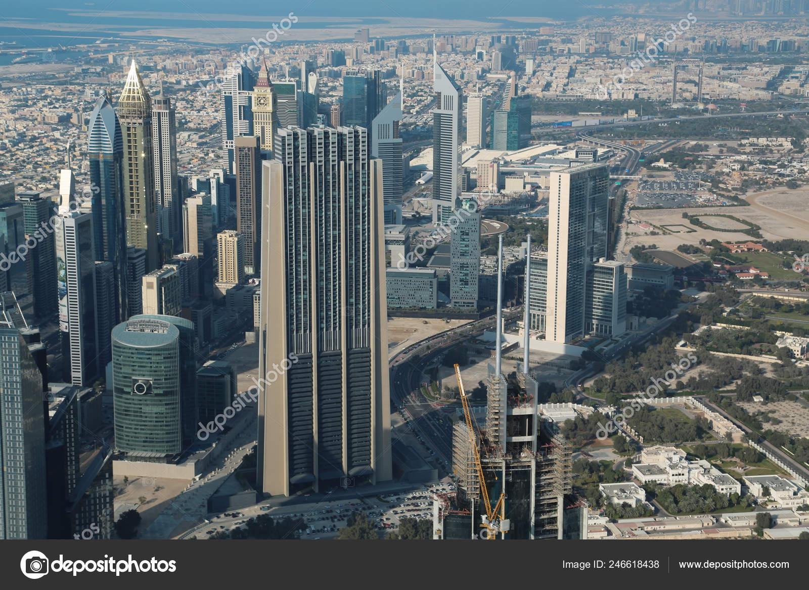 Uae Dubai January 2016 View Dubai