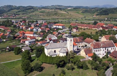 Parish Church of the Holy Cross in Zacretje, Croatia
