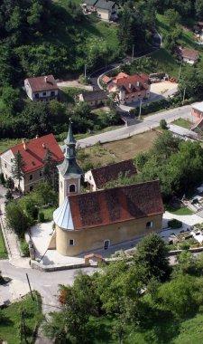 Church of Saint Barbara in Rude, Croatia