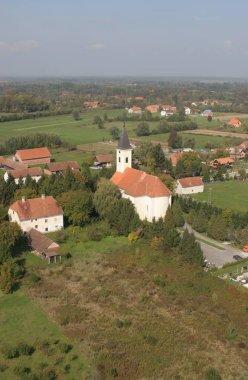 Parish church of the Saint Maximilian in Posavski Bregi, Croatia