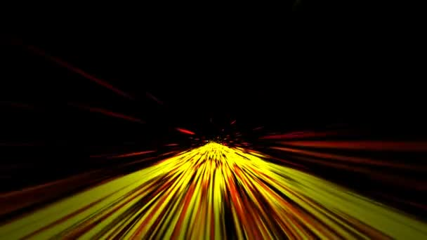 animated computer screen saver moving red yellow stripes imitating