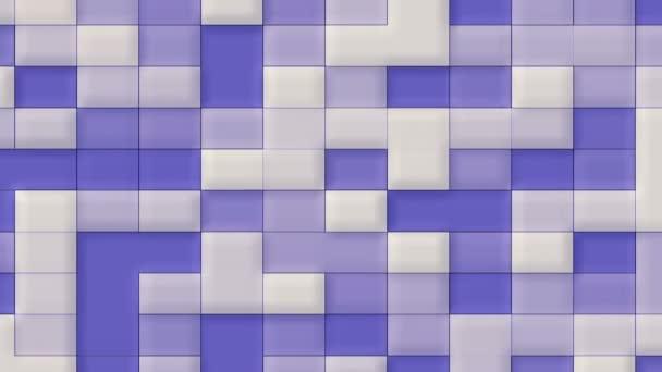 Absztrakt kék animált háttér szerkeszthető téglalapokat színátmenet, színes árnyékok, és a kötet