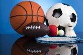 Balls, Sports Equipment, Winner background