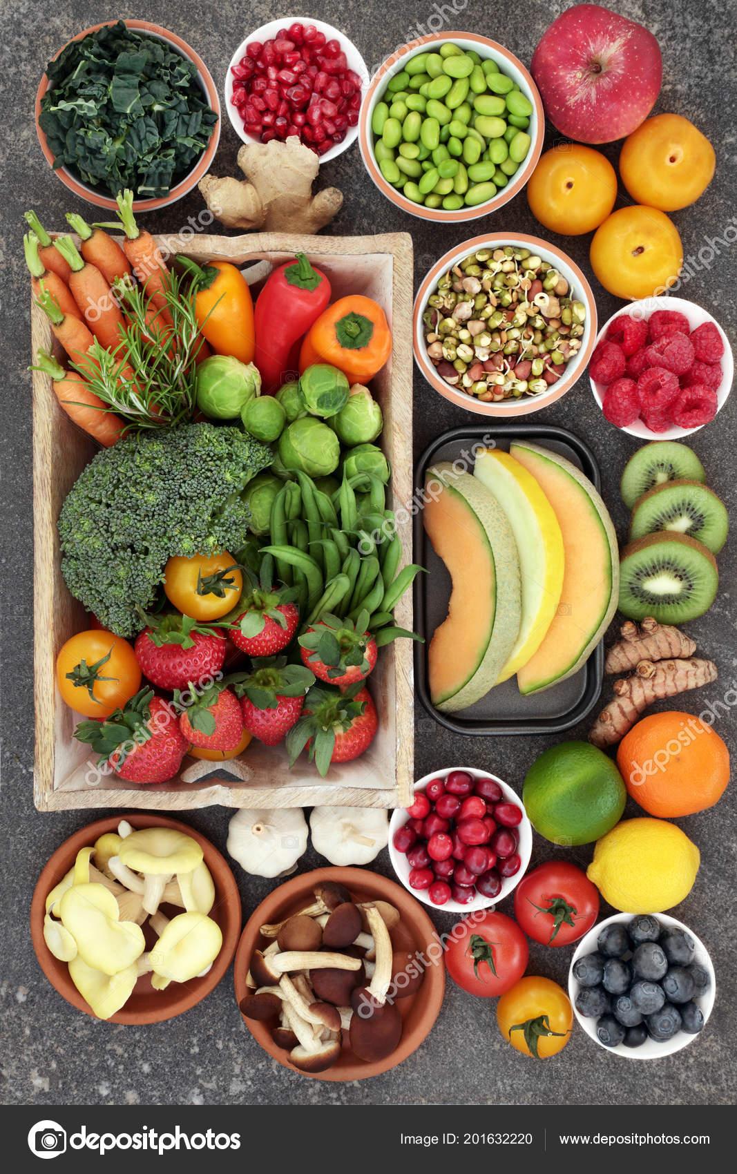 frutas y verduras ricas en vitaminas y minerales