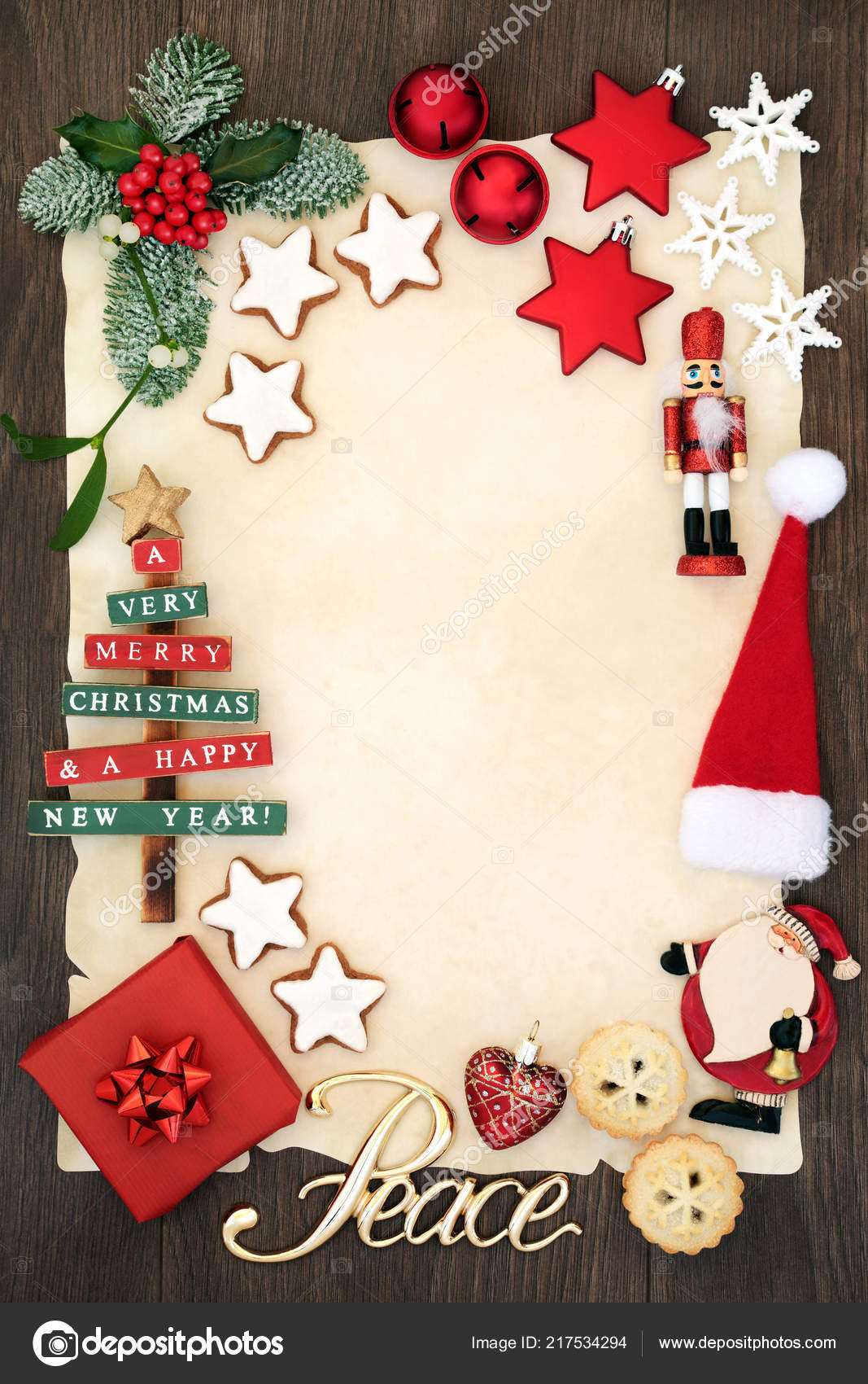 christmas party invitation blank letter santa claus