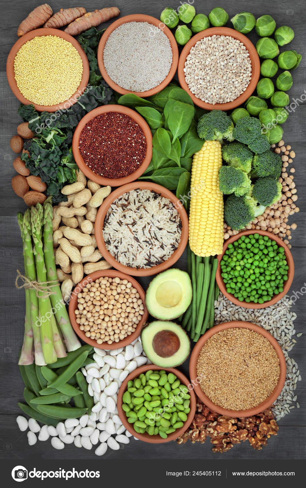 Verduras y legumbres ricas en proteinas