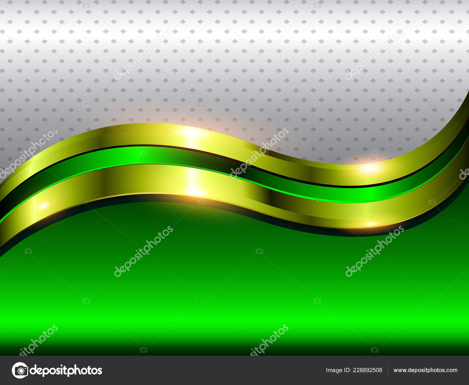 Background Green Gold Abstract Abstract Background Green