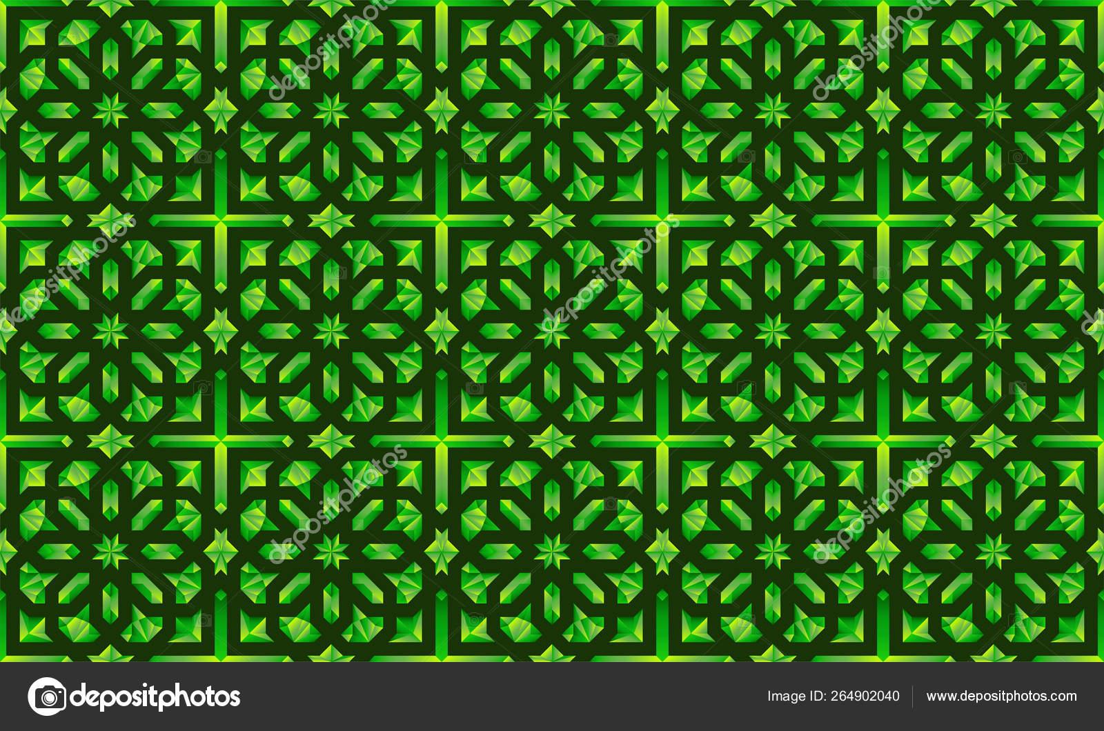 Neoclassic Seamless oriental pattern  Islamic background  Arabic