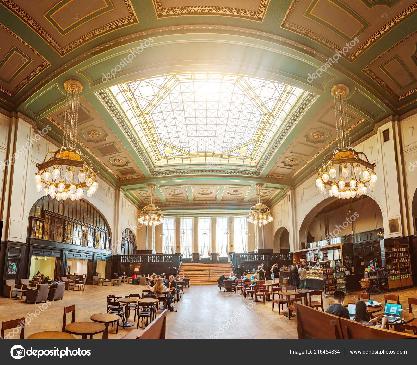 Leipzig Germany May 2018 Baroque Luxury Cafe Restaurant Leipzig Railway Stock Editorial Photo C Frantic00 216454834