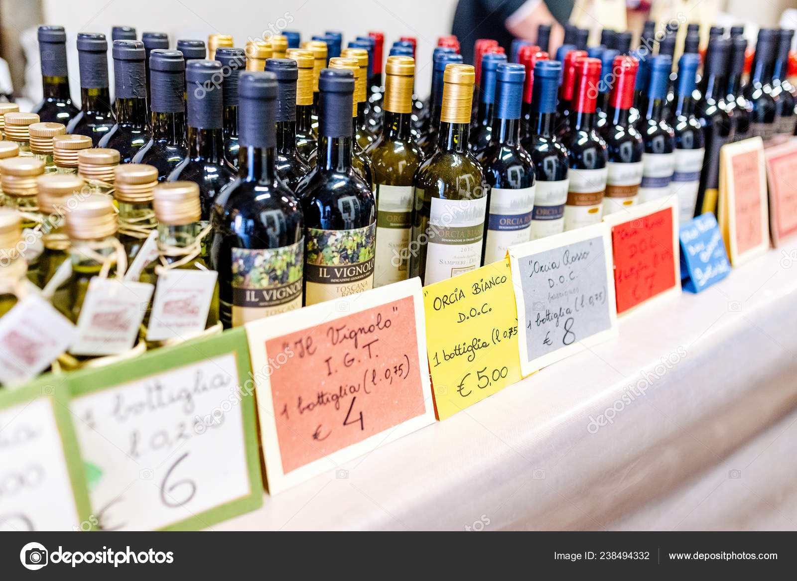 October 2018 San Quirico Orcia Italy Orcia Tuscany Wines Sale